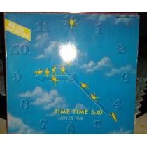 Vinil 12 - Men Of Time - Time Time - Italo Euro Disco 80s