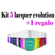 Kit 5 Lacquer Evolution 15 Ml ( Gel Gelish ) + Regalo