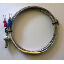Sensor De Temperatura, Termopar O Termocupla Tipo K, 1m