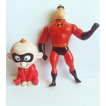 Mc Donald´s Os Incriveis Disney Pixar Bebe E Sr. Incrivel