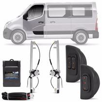Vidro Eletrico Master 2013 2014 2015 2p Sensorizado Kit