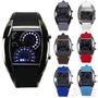 Reloj Led Deportivo Exclusivo Diseño Imitación Tablero Auto