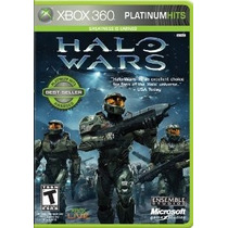 Halo Wars Platinum Hits Xbox 360 Nuevo