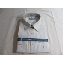 Kit 2 Camisa Raphy Ml Work,ref.52062,tam.44 Branco Nat.blend