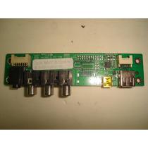 Placa A/v Usb,lateral, E168066, Lc3255(a)wda
