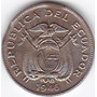 Doble Error En Cospel - Recorte ! 5 Centavos 1946 - Ecuador