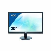 Monitor Led Aoc E2070swn 20 Pulgadas Resolución 1600x900