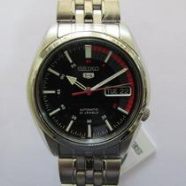 Relógio De Pulso Seiko Automático Masculino Aço Snk375b1