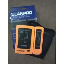 Probador Lan Tester Lanpro Rj45-rj11