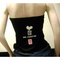 One Direction Camisa Artistas Online Patinado Talla S