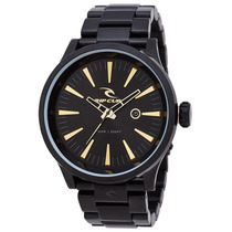 Relógio Rip Curl Recon Xl Midnight Gold A2851 Detroit Preto