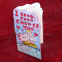 Simpsons Choo Choo - Tarjeta San Valentín Día Enamorados<br><strong class='ch-price reputation-tooltip-price'>$ 45<sup>00</sup></strong>