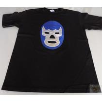 Blue Demon Playera Mod Mascara Talla M-g-xl Lucha Danbr68
