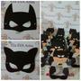 Lembrança Batman Kit C/20 Porta Bombom+24 Máscaras
