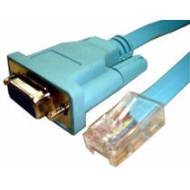 Cable Consola Db9 Rj45 Original De Cisco