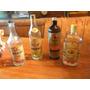 4 Botellas Vacias-ponche-legui Y Mas De Diferentes Bebidas !