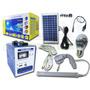 Kit De Alimentación E Iluminación Solar. Newled.cl