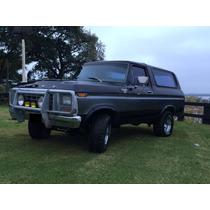 Vendo Ford Bronco Ranger Xlt- 4x4 - Mod 1979.- Original
