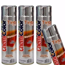Tinta Spray Cromado Metálico Chemicolor 400g