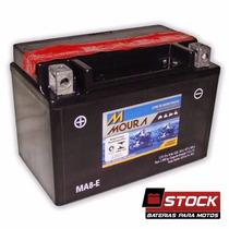 Bateria Moto Moura Ytx9-bs / Ma8-e Suzuki Gsx650f Gsxr750