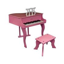 Piano Musical Con Banco 30 Teclas Ideal Para Niñas Mn4