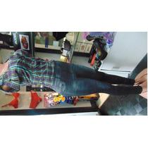 Pantalon Leggins Levantacola En Forma De Jeans****