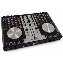 Controladora Dj Usb Skp Smx 2200 Com Virtual Dj De 4 Decks