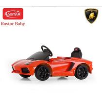 Auto A Bateria Rastar. Lamborghini Aventador. Nuevo