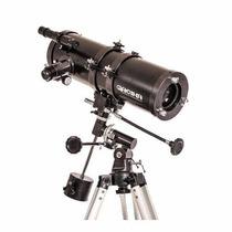 Telescópio Profissional Equatorial 1000x114mm 1500x Máxima
