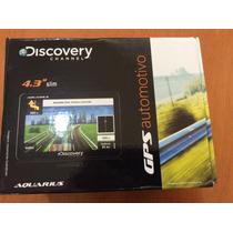 Gps Automotivo Discovery 4.3 Slim Touch Radar - Semi Novo