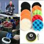 Esponjas 3 Pulgadas Pads Pulir Enserar Auto Taladro Pulidora