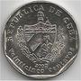 Moneda De Cuba 25 Centavos Año 2002