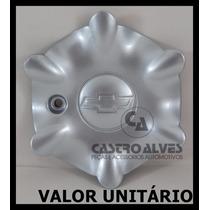Calota Tampa Miolo Centro Roda Vectra Gls 1997|1999 Prata