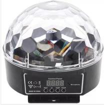 Bola Maluca Led Dmx 9 Cores 27w C/ Painel Lancamento Cristal