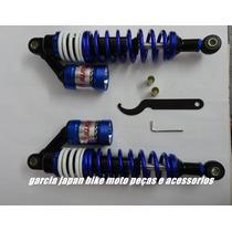 Amortecedor A Gás Azul Para Cg Titan 125 E Cg Titan 150