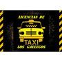 Transferencia Licencia De Taxi-reloj Y Pintura-los Gallegos-