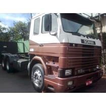 Scania R113 H 6x2 360hp Motor Novo , Pneus Otimos.unico Dono