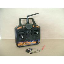 Radio Controle E Receptor 6ch 2.4 Hobby King