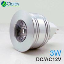 Foco Led 3 Watts 180 Lumenes Mr11 Gu4 12vac/dc 60 Lmw Cipres