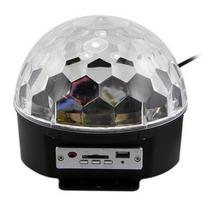 Bola Loca Led Usb Sd Luz Audioritmica Incluye Pendrive !