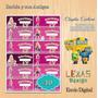 Etiquetas Escolares Barbie Y Sus Amigas #10