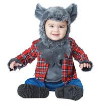 Disfraz Bebe Hombre Lobo Niño Halloween Lobito
