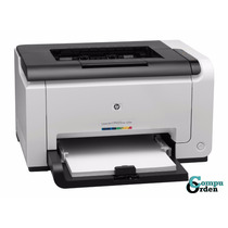 Impresora Hp Cp1025nw Laser Color Red Wifi Usb Toner 126a