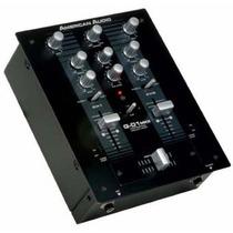 Mezclador De Dos Canales Profesional Mod Q-d1 Mkii American