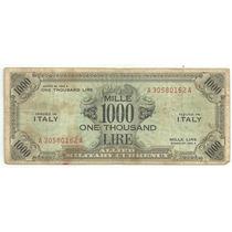 Italia 1000 Liras Ocupacion 1943 A Raro