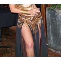 Dança Do Ventre - Saias De Musseline Cores Variadas