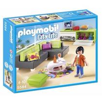 Retromex Playmobil 5584 Sala Moderna Casa Mansion Lujo