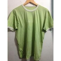 Playera Casual Color 7 Verde Pistache