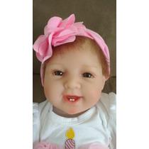 Boneca Bebê Reborn Dentinho 55cm Pronta Entrega Fotos Reais