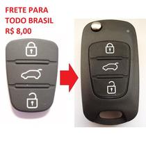 Capa Borracha Chave Hyundai I30 Ix35 Azera